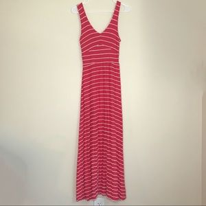 ANTHROPOLOGIE Puella Scribble Stripe Maxi Dress(S)